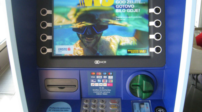 beskontaktni bankomat