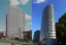 Zagrebački poslovni tornjevi