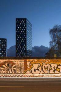 Strojarska ulica - neboderi