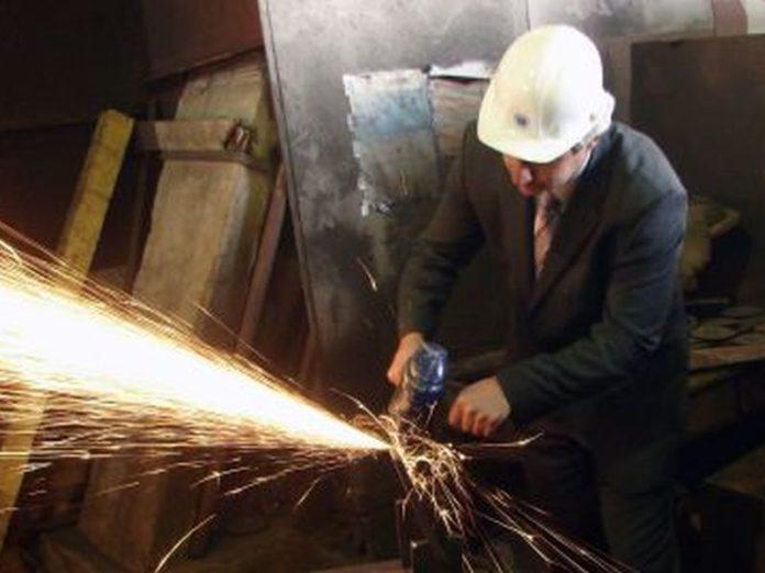 obujam industrijske proizvodnje