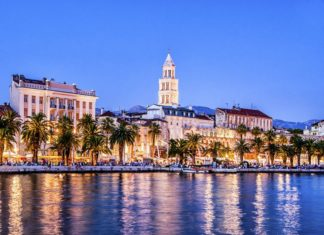 grad Split zvonik Svetog Duje