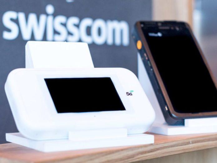 Ericsson i Swisscom