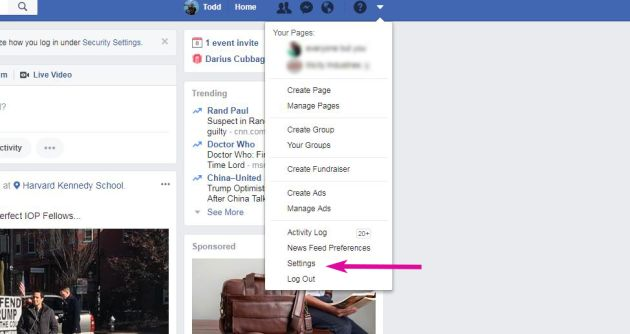 izbrisati račun na Facebooku