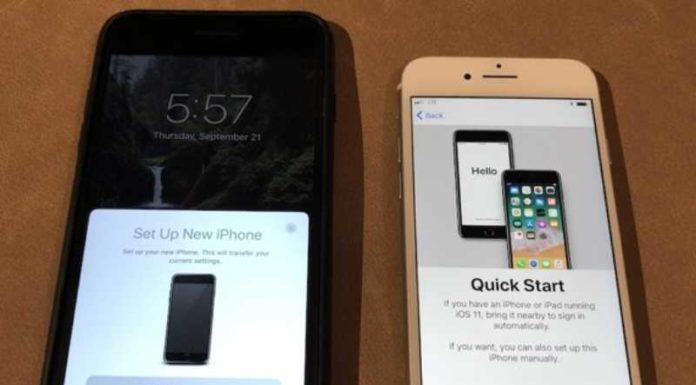 podesiti novi iPhone