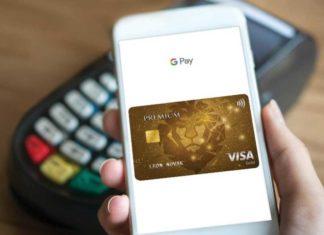 Google Pay Visa