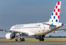 Croatia Airlines korištenje maski