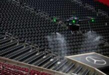 dron za dezinfekciju