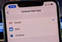 e.mail iOS