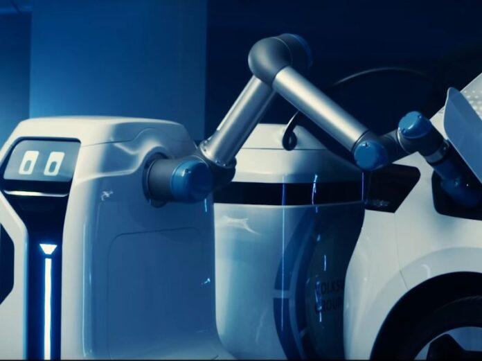 protip robota za punjenje električnih vozila