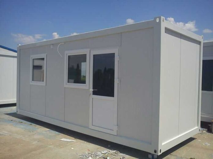 izgradnja kontejnerskog naselja
