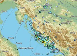 potres Šibenik
