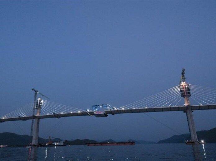 spojen Pelješki most