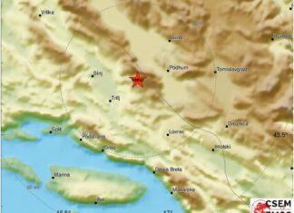 potres dalmacija